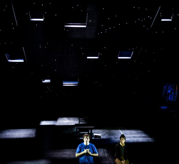 The Curious Incident with the dog in the night time<h6>by Simon Stephen after Mark Haddons book</h6>