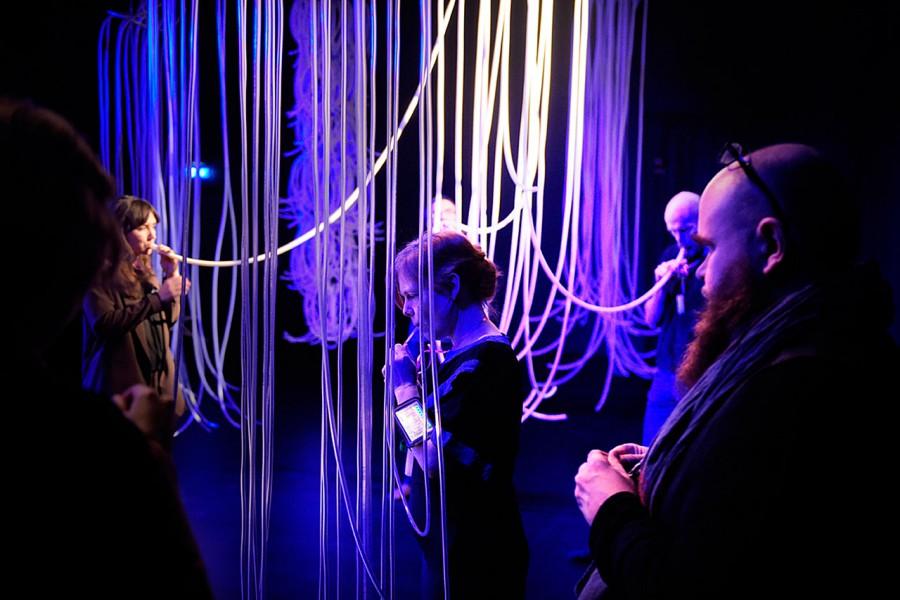 Orgel – A visual sound installation